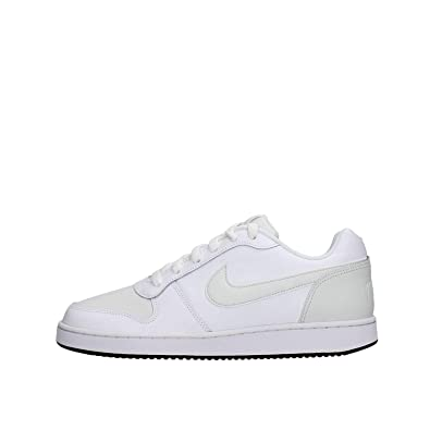check out eede5 46981 Nike Ebernon Low, Chaussures de Basketball Homme, Multicolore Off  WhiteBlack 101,