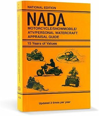 2011 Nada Motorcycle Snowmobile Atv Personal Watercraft Appraisal