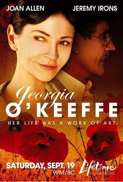 Amazon Com Georgia O Keeffe Joan Allen Jeremy Irons Bob Balaban Movies Tv
