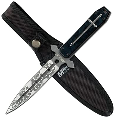 MTECH USA MT-20-23BP 9.25-Inch Overall Fixed Blade Knife