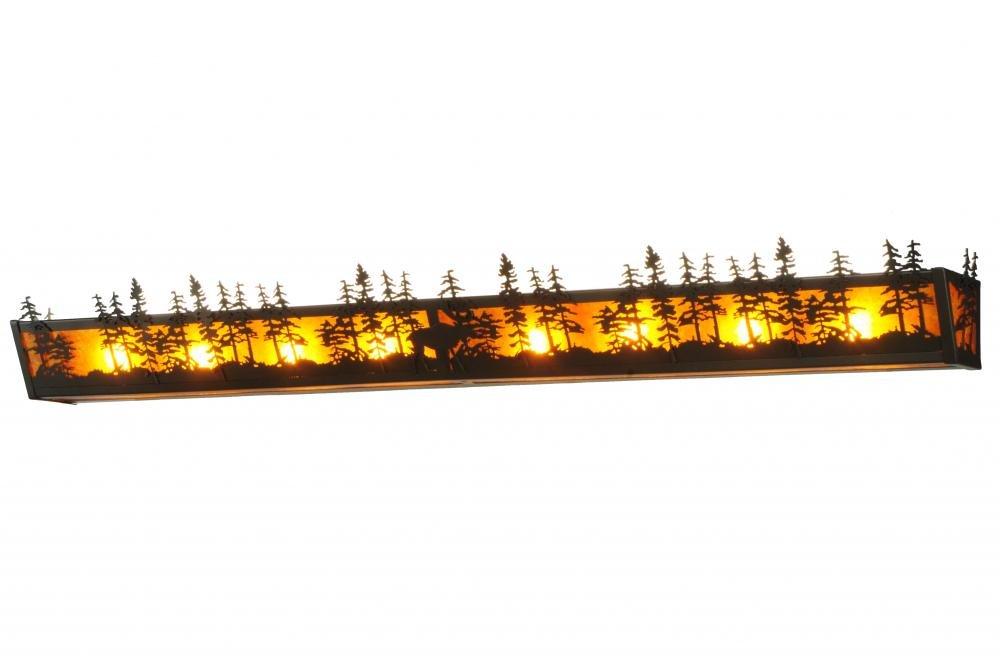 Meydaティファニー139293 Tall Pines Vanityライト、幅58.5