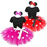 Mouse Costume Baby Toddler Girl Tutu Dress Princess Dress Up Birthday Halloween
