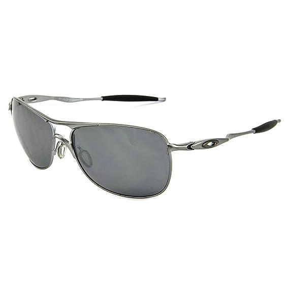 bf29eb6c204e7 Oakley Mens Crosshair OO4060-06 Polarized Oval Sunglasses