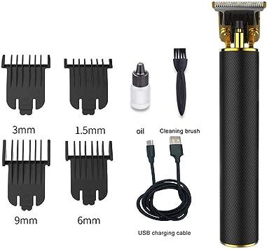 Ploufer Cortadora De Cabello para Hombres Mujer, USB En T ...