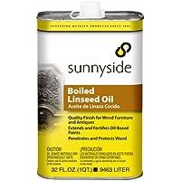 Sunnyside Corporation 87232S Aceite de linaza cocido , 32 Fl. Oz.