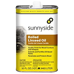 Sunnyside Boiled Linseed Oil - Check Price on Amazon