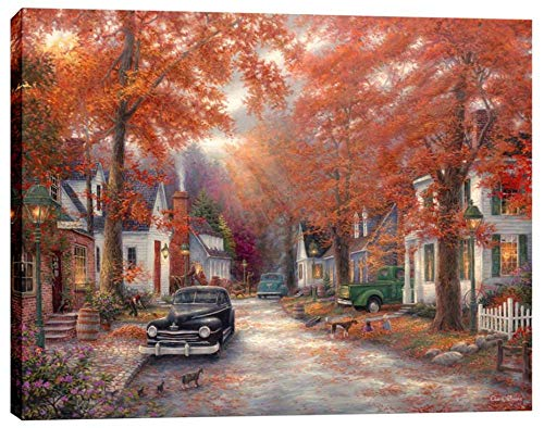 Cortesi Home A Moment on Memory Lane by Chuck Pinson, Giclee Canvas Wall Art, 40