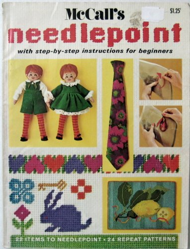 (McCall's Needlepoint (Step by Step Lessons for beginners, 31 Stitches to Learn, Book 2))