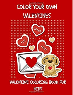 Valentine\'s Day Coloring Book For Kids + Valentine\'s Day Cards for ...