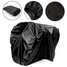 ANPI 2 Bikes Cover Heavy Duty Outdoor Waterproof Mountain Road Bicycle Cover, 180T Waterproof Dust Resistant UV Protection Strong and Tear Proof Bike Cover with Storage Bag