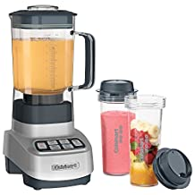 Cuisinart VELOCITY Ultra Trio 1.5L 750-Watt Blender with Travel Cups