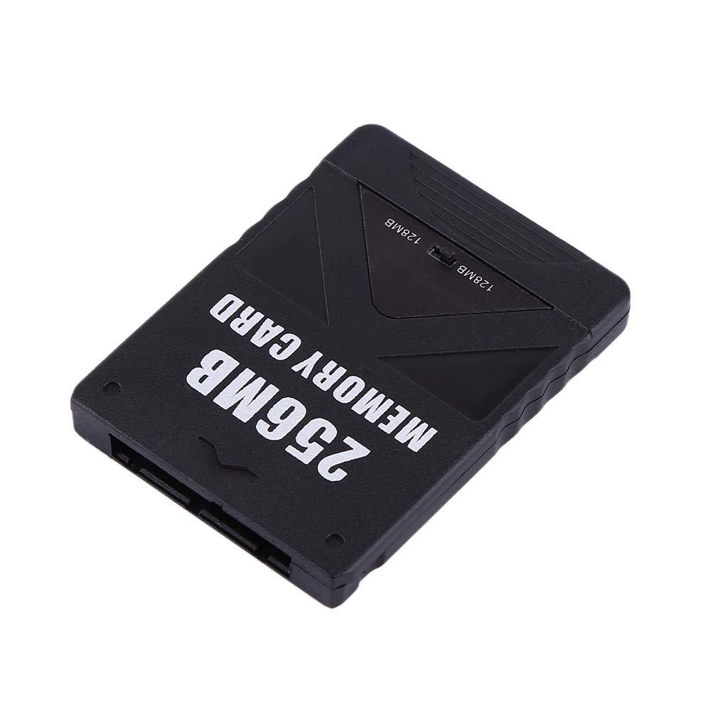 Hakeeta Memory Card per PS2 8M 8M-256M Game Memory Card ad Alta velocit/à per Sony Playstation 2 PS2.Giochi Accessori per Salvare Giochi e Informazioni