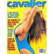 Cavalier Magazine - January 1992: Miss Nude North America, Poolside Sex, & More