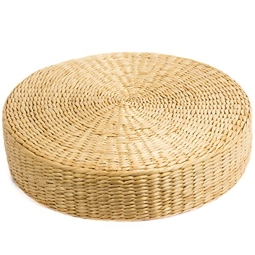wu designs–Cojín para meditación––bambú–Meditación Cojín de Yoga