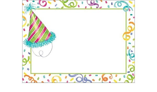 Amazon Gift Tags Birthday Peel N Stick Adhesive Labels Hats 12 Pc 25 X3 Health Personal Care
