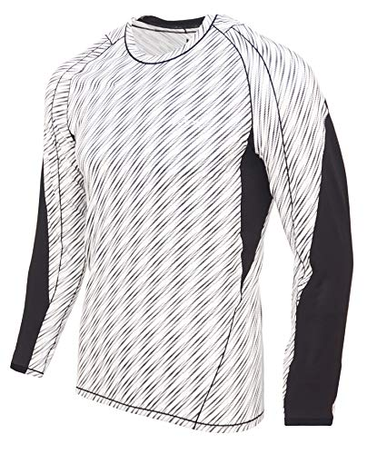Turaag Long Sleeve T-Shirt for Men Quick Dry Compression Two Way Air Circulation & Cool Moisture Wicking Fabric T-Shirt for Running Training & Gym