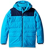 Marmot Boys' Rail Jacket (Big), Bahama Blue/Arctic Navy, SM (6/7 Little Kids)