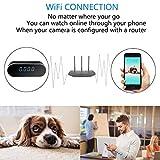 NANIBO WiFi Hidden Spy Camera Alarm Clock HD