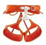 Petzl, Imbracatura da arrampicata Sama, Arancione (Orange), M