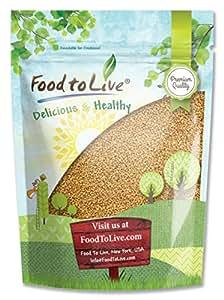 Food to Live Fenugreek Seeds (Methi) (8 Ounces)