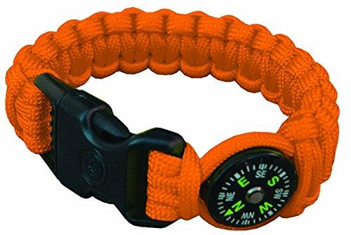 UST Para 550 Compass Bracelet, Orange by UST