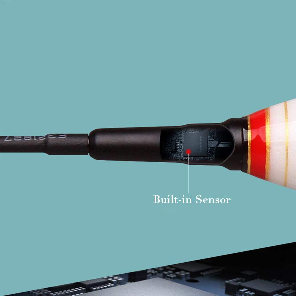 Und Herbewegung mit Knopfbatterie Und Herbewegungs-Nacht Leuchtende Fischen-Hin decaden Slim LED Pose,Intelligente Fischen-Hin Und Herbewegungs-gef/ührtes Licht Erinnern Automatisch Fischen-Hin