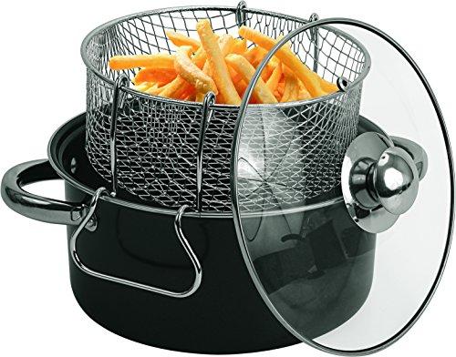 Compare Price To Steel Nonstick Deep Fryer Set
