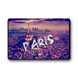 Wewin Matchmaking in Paris Girly Paris Non Slip Door Mates Non-woven Fabric Indoor/outdoor Doormats 18 x 30inch