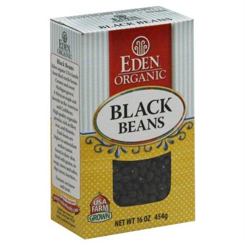 Eden Organic Black Beans Boxes - 16 oz by Eden