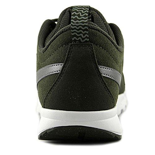 Nike Heren Trainerendor L Cargo Kaki / Metallic Koel Grijs Wit Enkel-hoge Crosstrainer Schoen - 8m