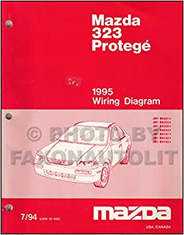 1995 mazda 323 and protege wiring diagram manual original: mazda:  amazon com: books