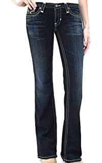 d053d49616e Big Star Hazel Curvy Fit Boot Cut, Rual Blue, Denim Jeans 24 34 Long ...