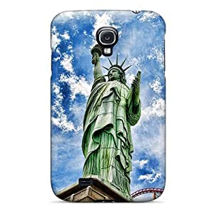 New Premium IZQzCWs4162UTZBA Case Cover For Galaxy S4/ Statue Of Liberty Protective Case Cover