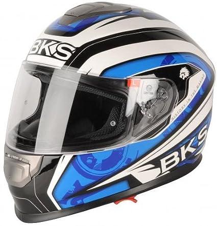 Bks Techno Motorcycle Helmet Motorbike Crash Helmet Race Lid Racing