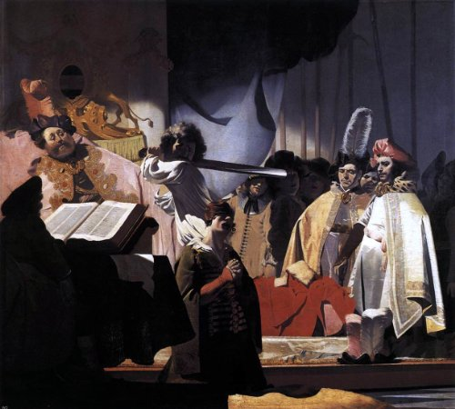 Nicolaes Van Galen Count Willem III Presides over the Execution of the Dishonest Bailiff in 1336 - 20.1