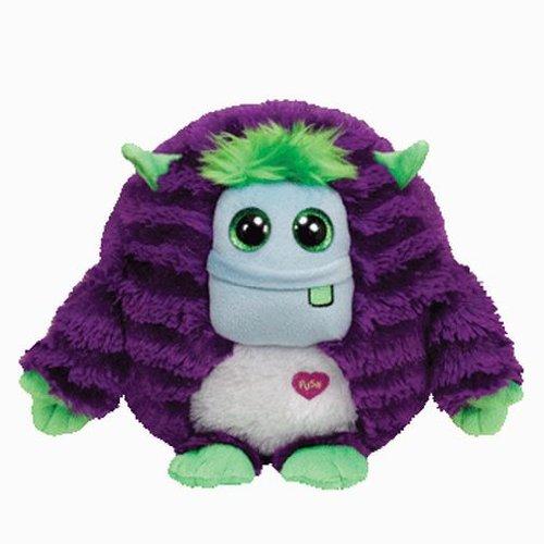 Ty INC Monstaz Frankie the Purple & Green Monster 5