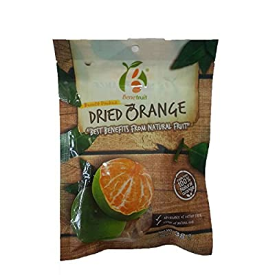 Bene Fruit Dried Orange Made From 100% Natural Net Wt 38 G. Original From Thailand