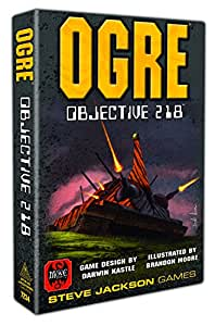 Ogre Objective 218 Board Game