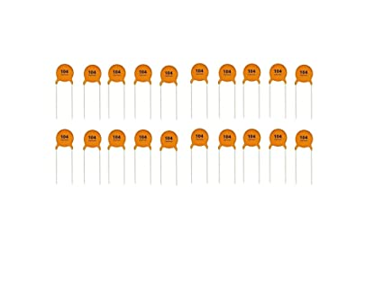 25 Kinds Ceramic Capacitor Each 10pcs Disc Capacitor 250pcs All in one Bag New