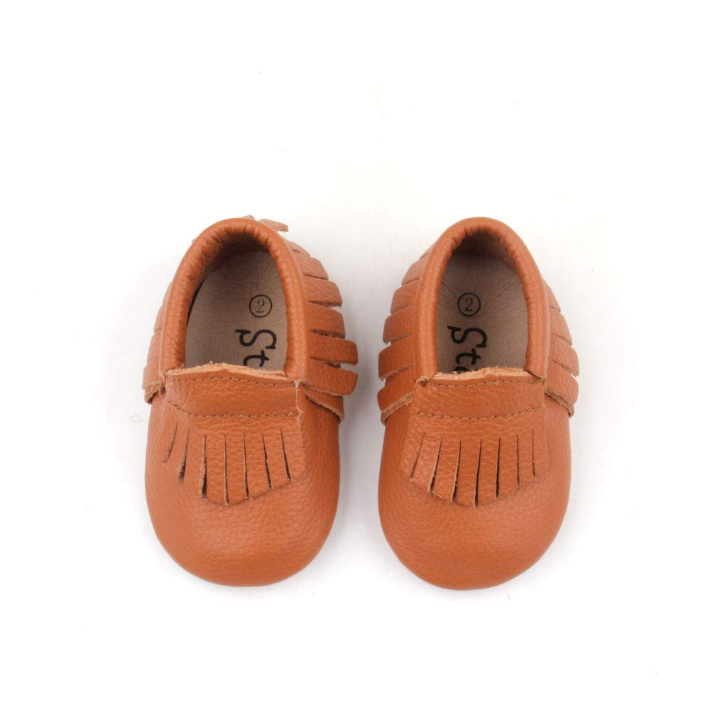 b40f13167a0 Starbie Anti-Slip Baby Moccasins for Infant   Toddlers