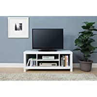 Mainstay.. TV Stand for TVs up to 42, Dimension: 47.24 x 15.75 x 19.09 Inches (White)