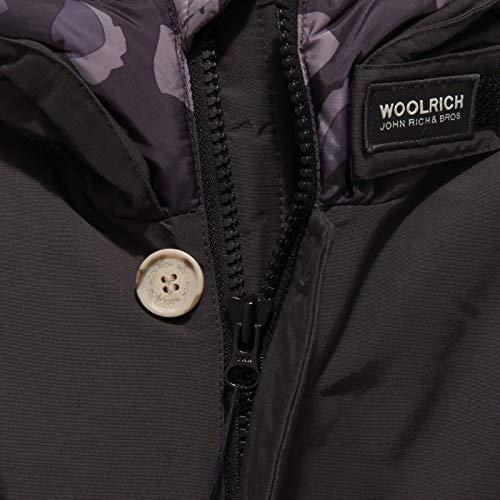 Bimbo Woolrich Black Nero 6024x Kid Artic Parka Piumino Jacket HHrBOqE