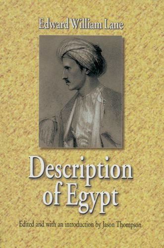 [PDF] Description of Egypt: Notes and Views in Egypt and Nubia Free Download | Publisher : The American University in Cairo Press | Category : History | ISBN 10 : 9774245253 | ISBN 13 : 9789774245251