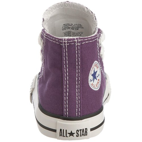 Children's Converse All Purple Laker Unisex Star Hi Chuck Trainers Taylor wTZRvYA