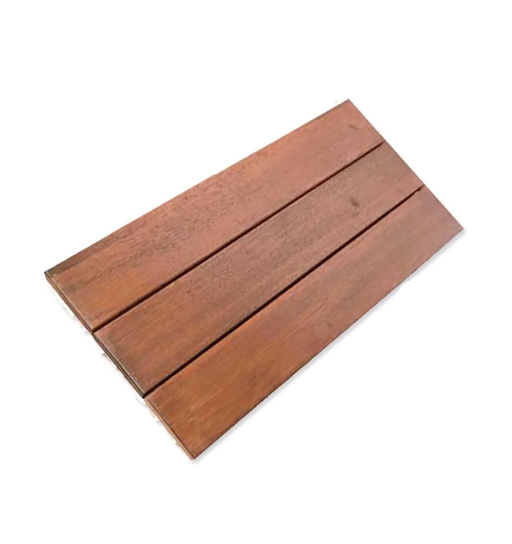 フローリング木製床、屋外パティオ庭テラスAnticorrosiveソリッド木製DIY床、インドアバルコニーバスルーム木製anti-skidモザイク床、ソリッド木製self-pelling正方形床サイズ: 90303.2 cm B07DN5NJ86