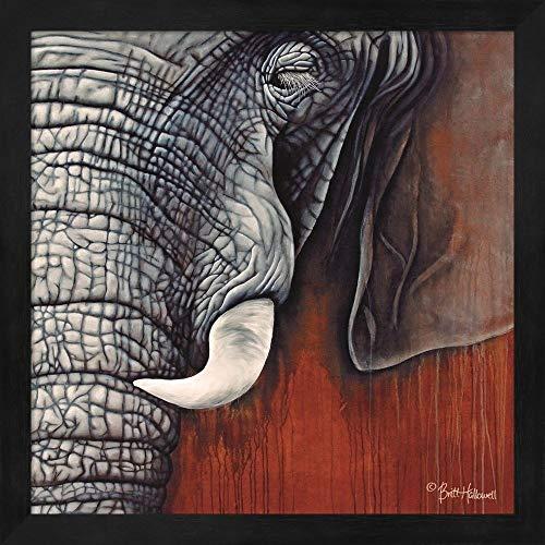 Metaverse Britt Hallowell 'Revering Tembo' Framed Art ()