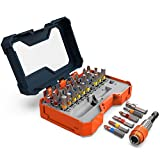 Presch Screwdriver Bit Set 32 ​​Pieces - Screwdriver Bits - Quick-Change Magnetic Bit Holder - Colour Coded Driver Bits for Cordless Screwdrivers