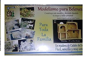 Maqueta kit modelismo de belenes de Navidad, Establo para ...