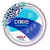 Health & Personal Care : Dixie Everyday Paper Plates, Dinner Plates, 10 1/16 Inch, 54 Count