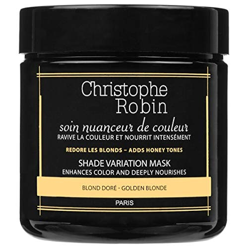 - Christophe Robin Shade Variation Nutritive Mask with Temporary Coloring  (Golden Blond) - 250 ml